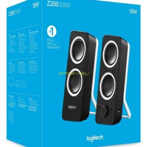 Logitech Z200 2.0 Multimedia Speakers